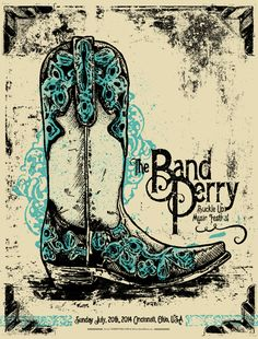OMG Posters! » Archive » Buckle Up Music Festival Posters by Keith Neltner and Tommy Sheehan