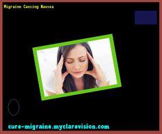 Migraine Causing Nausea 202300 - Cure Migraine