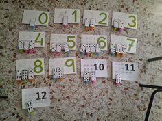 """¡Buenos días!: Aprovechando el dominó elaborado para las """"Fracciones dominó"""" y la plantilla del juego """"Encuentra la suma"""" , hemos jugado ..."""