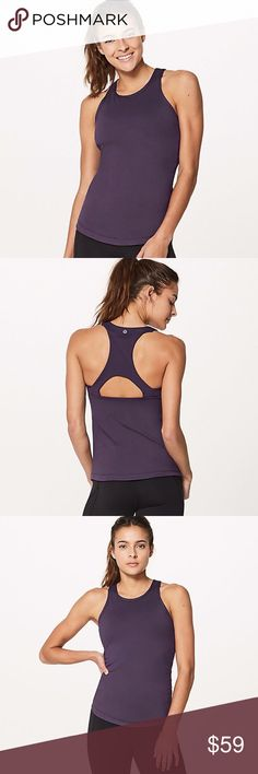 Lululemon Final Lap Tank We designed this tank with a back pocket to help you power through a circuit training session without losing your stuff. Stow your phone in the racerback panel and use the double-flap closure to hold it in place. Thread your headphones through the bonded eyelet and you're good to go. LUXTREME® Is sweat-wicking, four-way stretch, and engineered not to shrink lululemon athletica Tops Tank Tops