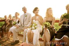 I would love a wedding hay ride for the wedding party.
