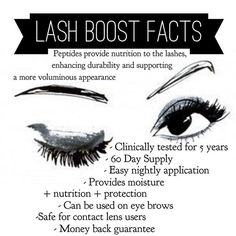 Rodan +Fields LASH BOOST. Clinical trials showed: -85% longer-looking lashes -90% fuller-looking lashes -63% darker-looking lashes #Lashes #LashBoost