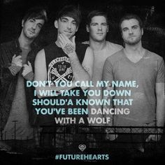 All Time Low - Dancing with a wolf. this song is sooooo amazing