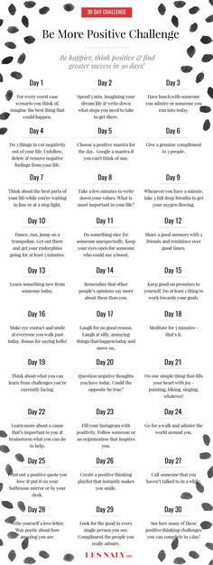 Need more positivity in your life? Join us in the 30 Days to Be More Positive Challenge and start your happier life today!