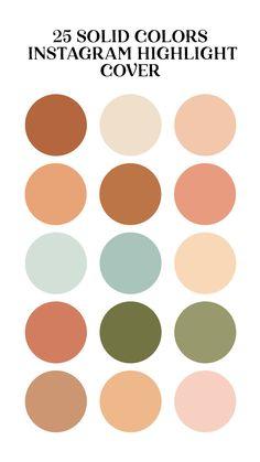 Colour Pallette, Colour Schemes, Color Combos, Earthy Color Palette, Neutral Palette, Color Trends, Wallpaper Inspiration, Color Inspiration, Feeds Instagram