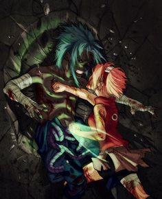 Naruto - Haruno Sakura - Uchiha Sasuke