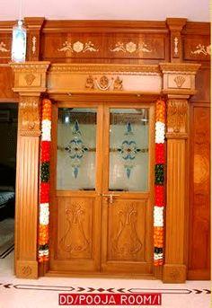 home mandir. & puja room design. home mandir. lamps. doors. vastu. idols ... pezcame.com