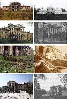 The Ropsha Palace was Czar Nicholas II's favorite hunting and fishing retreat. Once a grand palace, today it is just ruins that represent the lost world of the Romanovs… Cr.ghost of the ipatiev house/tumblr