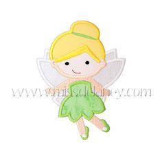 Tinkerbell Applique Design