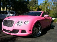 the pink bently
