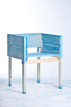 Lucas Maassen and Sons painted chair