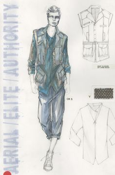 Illustration & Design by Otis Fashion Alumni | Otis Fashion