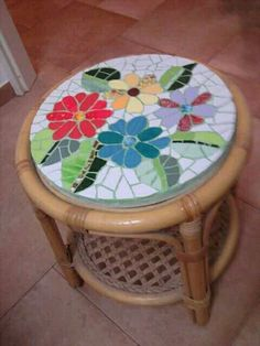 Blog sobre Recetas por Puntos. Adelgazar sin hacer dietas. Lenguado al horno con limón Mosaic Stepping Stones, Stone Mosaic, Mosaic Glass, Table Mosaic, Mosaic Tray, Mosaic Tile Designs, Mosaic Tiles, Mosaics, Mosaic Crafts