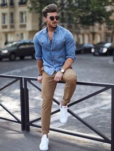 Best business casual outfits for men 01 be stylish fashion, Best Business Casual Outfits, Business Casual Men, Business Style, Outfits Hombre Casual, Casual Outfit For Men, Outfits For Men, Fashionable Outfits, Men's Casual Wear, Casual Clothes For Men