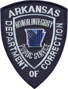 Aus USA  Aufnäher Department of Correction Arkansas