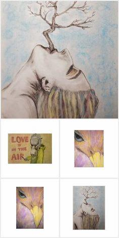 Jedes Kunstwerk ist eigentlich eine Skizze, die erst durch unsere Fantasie vollendet wird.  - Sigmund Graff - Poster, Painting, Business Cards, Postcards, Fantasy, Sketches, Artworks, Printing, Art Production