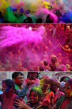 Oh boy, about three weeks ago on the 8th of March the beautifully vibrant Holi festival  took place around the world. It's one of those ama...