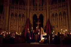 12.16.12... Candlelight carol festival at the Riverside Church