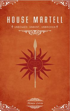 Game of Thrones, Martell