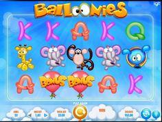 Náš hrací automat Balloonies představuje zábavné balónky zvířat, ve kterém na vás čeká 20 sázkových řad a 2 úžasné nové funkce. Kdo doletí ze zvířátek nejvíš?  http://www.hraci-automaty-zdarma.com/hry/online-automat-balloonies #HraciAutomaty #VyherniAutomat #balloonies #Vyhra #hry