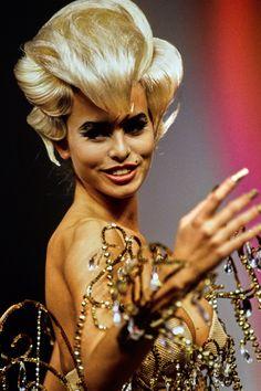 Niki Taylor,Thierry Mugler 1992