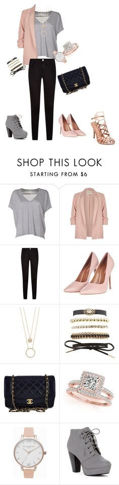 """""""TGIF night out"""" by sadie3132 on Polyvore featuring Acne Studios, River Island, Topshop, Kate Spade, Charlotte Russe, Chanel, Allurez, Olivia Burton and Madden Girl"""
