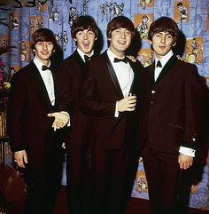 The Beatles: Ringo, Paul, John and George.