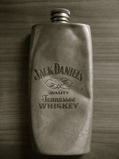 Vintage Jack Daniel's Flask, Donald would love this! Alcohol, Tennessee Whiskey, Its A Mans World, Jack Daniels Whiskey, Wine And Spirits, Bottle Design, Packaging, Mens Fashion, Fashion Shoes