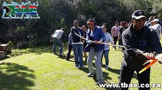 Tug of War Team Building Exercise #Woolworths #TeamBuilding #CorporateFunDay