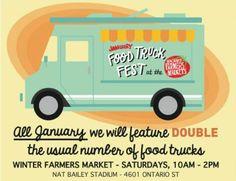 January Food Truck Fest: Nat Bailey Stadium - Vancouver - begins Sat, 25 Jan 2014 #Festival, Food and Drink