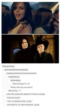 Snape was always my favourite-worst character.. like, i was in a love-hate relationship with him. Naw mean dawg