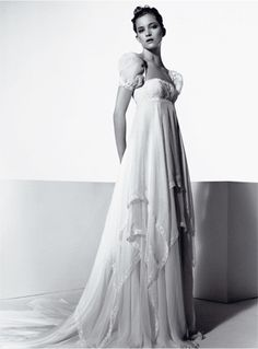 I LOVE this one, it's perfect. romantic bridal gown - italian wedding couture