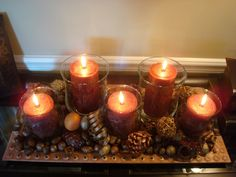 Beautiful, simple, natural elements for Fall