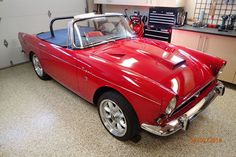 """This 1966 Sunbeam MK1a is a Tiger tribute with chassis and powertrain parts moved from a concours-winning Tiger onto an Alpine chassis, the resulting car was featured """"The Book of Norman."""" The seller has added upgrades including a built 302 over his 20 year ownership."""