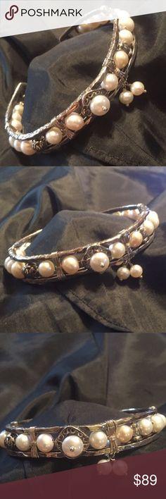Silpada Bracelet Silpada Pearl Cuff Bracelet. Silpada Jewelry Bracelets