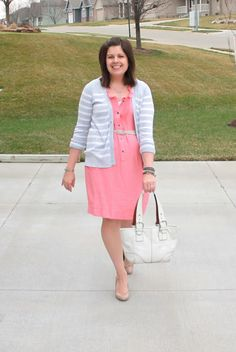 My New Favorite Outfit: Pink and stripes