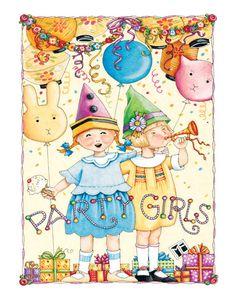 Party Girls! - Mary Engelbreit