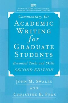 Academic writing for graduate students online
