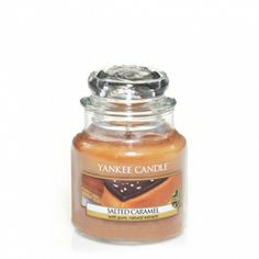 Salted Caramel Scented Candle : Small Jar Candle : Yankee Candle