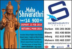 Call us on 031 2010 630 for more info.