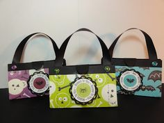 Halloween Gift Purses - candies or hand sanitizer - bjl