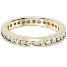 1ct Diamond Wedding Eternity Stackable 14K Ring New >>> Want to know more, click on the image.