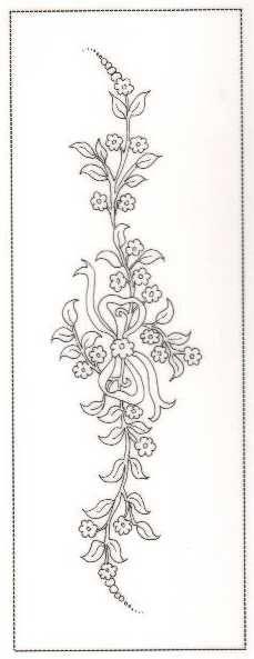 Pergamano šablony - free pattern - Kateřina Horáková - Álbuns da web do Picasa Embroidery Transfers, Hand Embroidery Patterns, Vintage Embroidery, Ribbon Embroidery, Floral Embroidery, Cross Stitch Embroidery, Machine Embroidery, Parchment Craft, Motif Floral