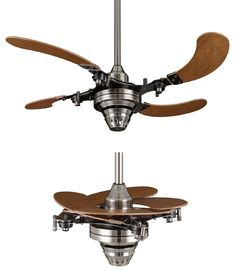 Ceiling Fans to Consider - Retractable Blade Ceiling Fan