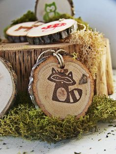 Woodland Animal Gift Tags.