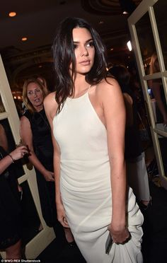 Kendall Jenner hits fashion high note in gown at Harper's Bazaar event #dailymail