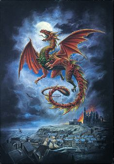 Dragon, no longer posted. Mystical Fantasy Pictures of Dragons Fantasy Dragon, Fantasy Art, Dragon Medieval, Medieval Tattoo, Mythical Dragons, Dragon Artwork, Dragon Pictures, Sword And Sorcery, Mythological Creatures