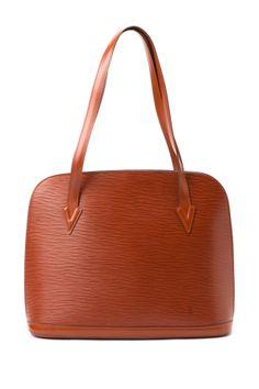 Vintage Louis Vuitton Leather Lussac Tote on HauteLook