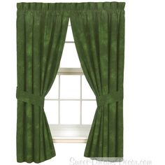 Caribbean Coolers Rain Forest Rod Pocket Drapes Curtains by None, via Polyvore