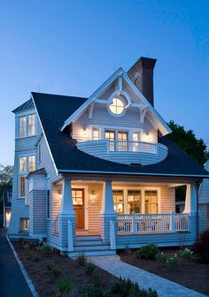 Beach House. Modern Shingle Beach House. #BeachHouse ...